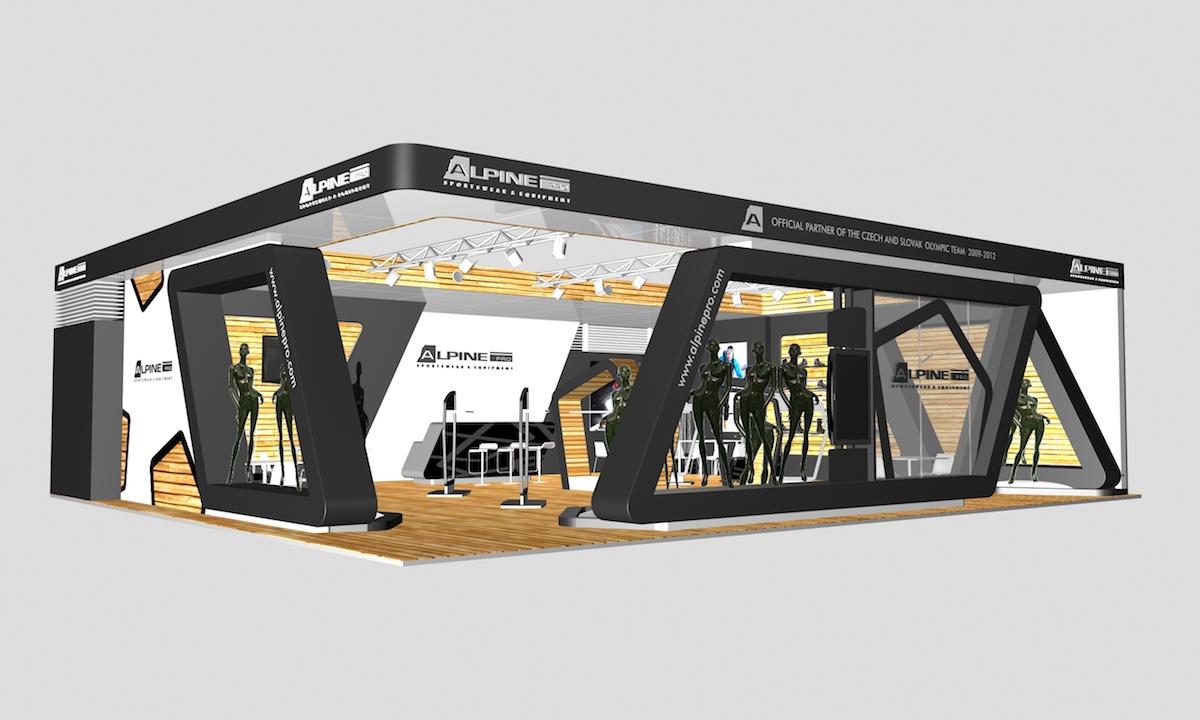 Stánek pro Alpine Pro
