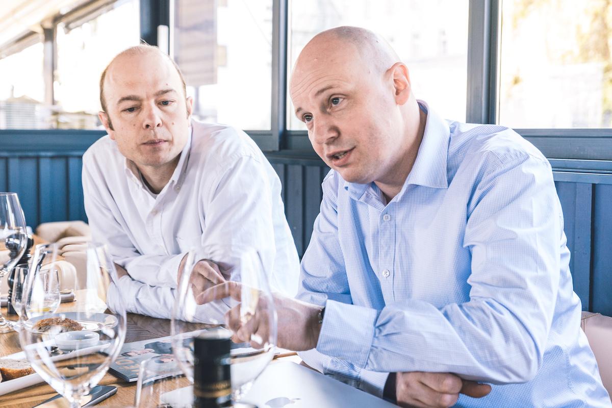 Carl Wright (vlevo) a David Brada. Foto: Jakub Hrab