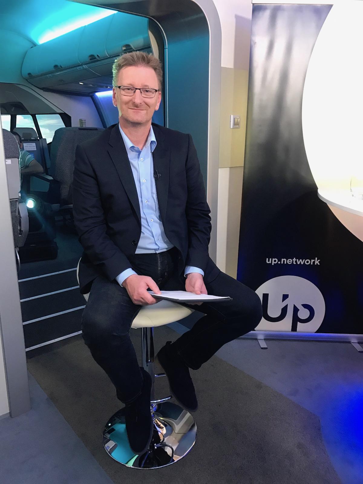 Marek Černoch na Up Network