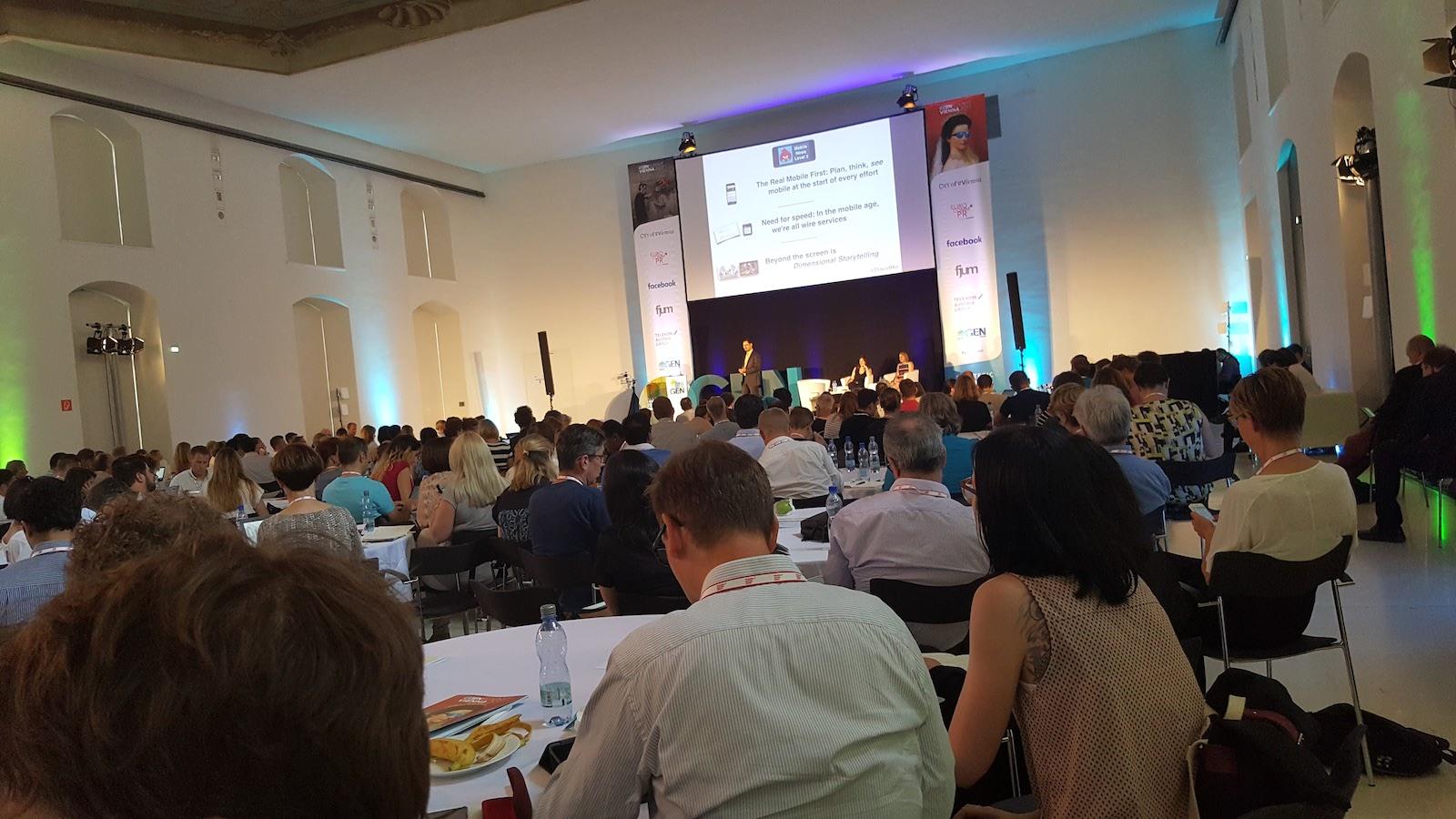 """Global Editors Network Summit 2017: """"V mobilní éře jsme všichni zpravodajskými agenturami"""""""