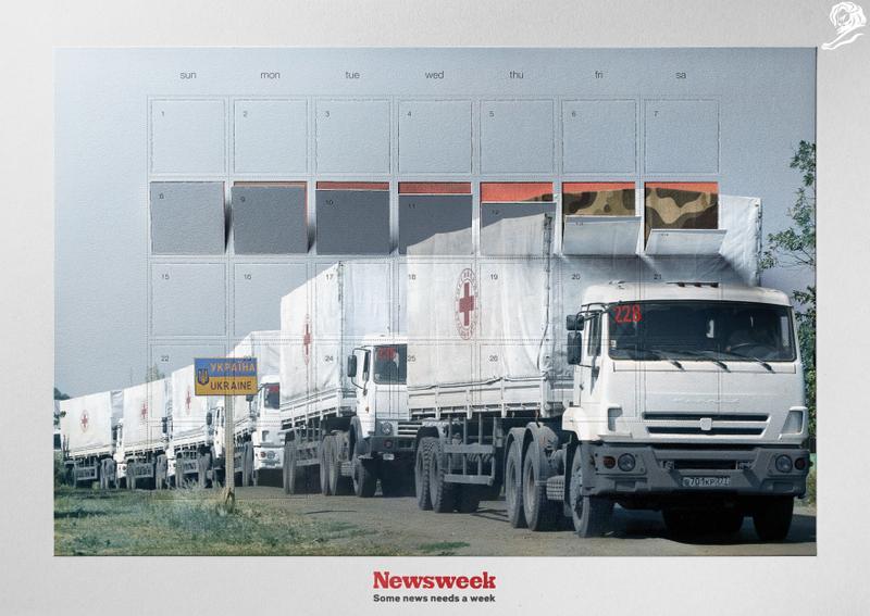 Humanitarian Invasion. Z kampaně Y&R Prague pro Newsweek