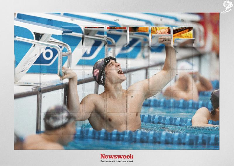 Olympic Drunk. Z kampaně Y&R Prague pro Newsweek