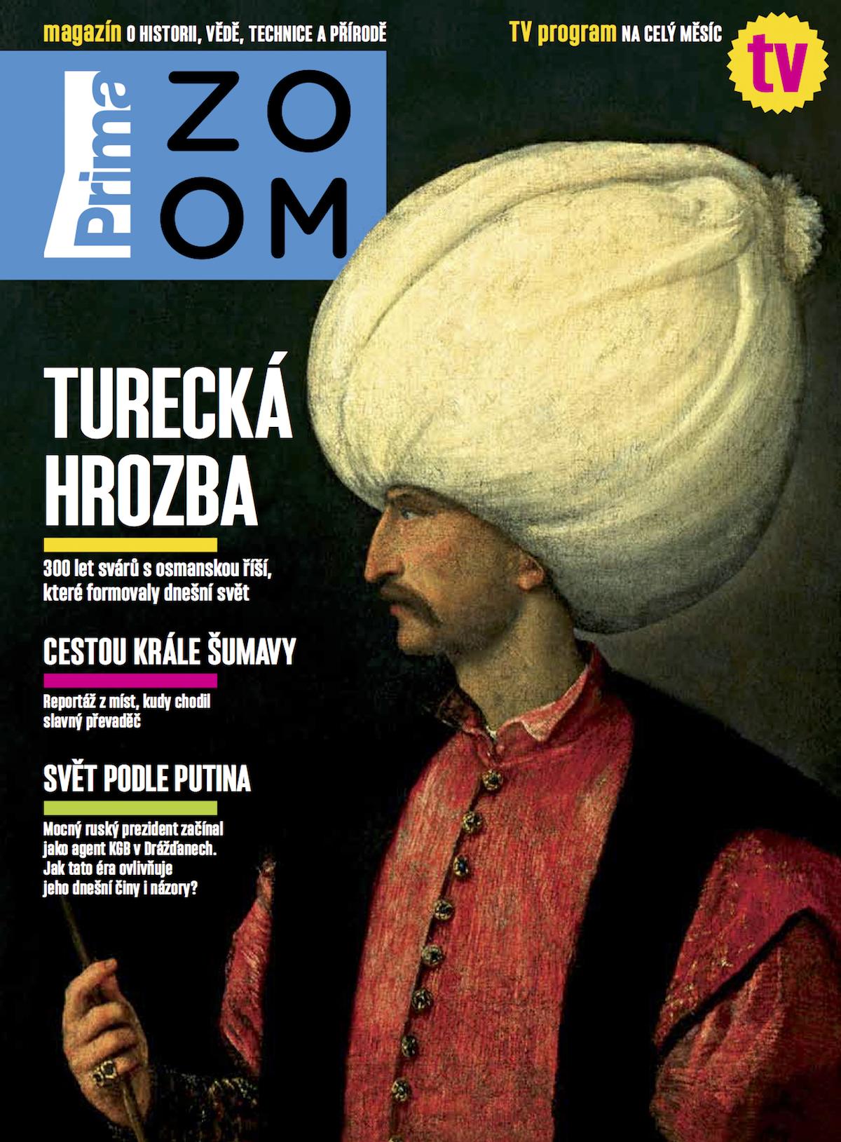 Titulní strana prvního čísla časopisu Prima Zoom