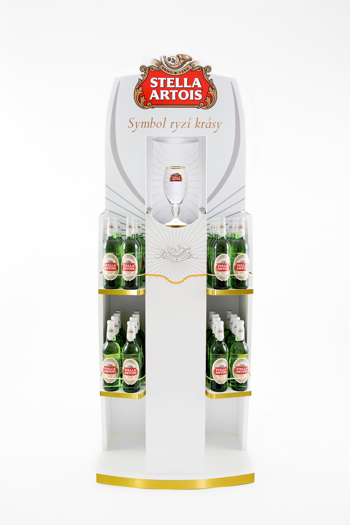 Stojánek pro Stella Artois