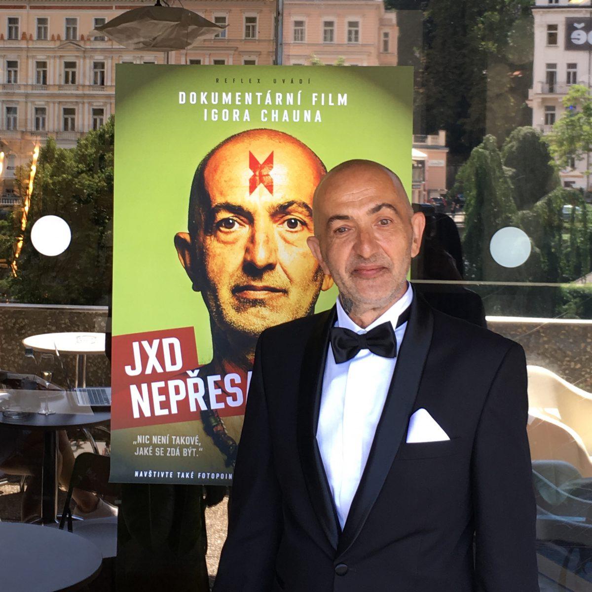 Jiří X. Doležal letos na festivalu v Karlových Varech