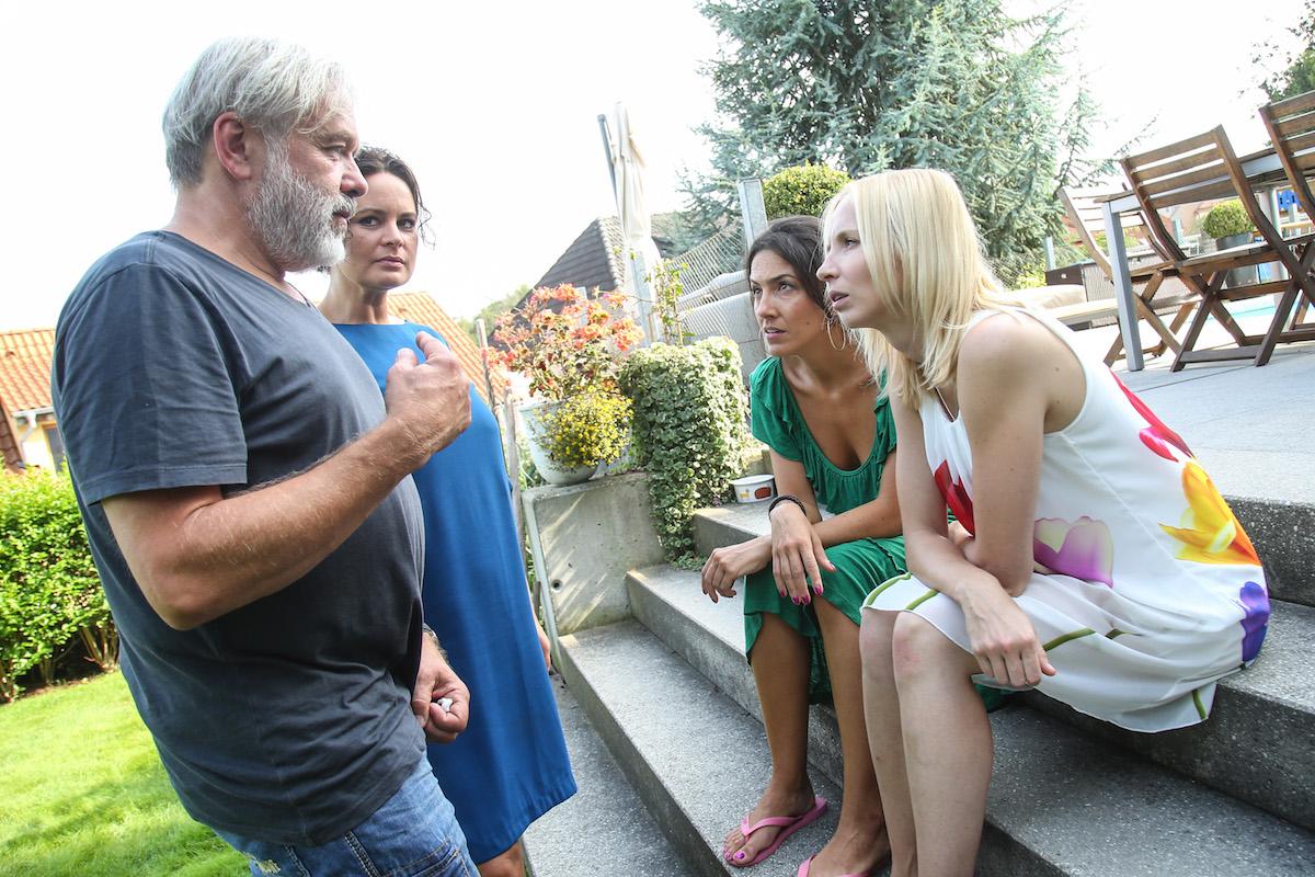 Zleva Radek Bajgar, Jitka Čvančarová, Lucia Siposová, Jana Plodková. Foto: TV Prima