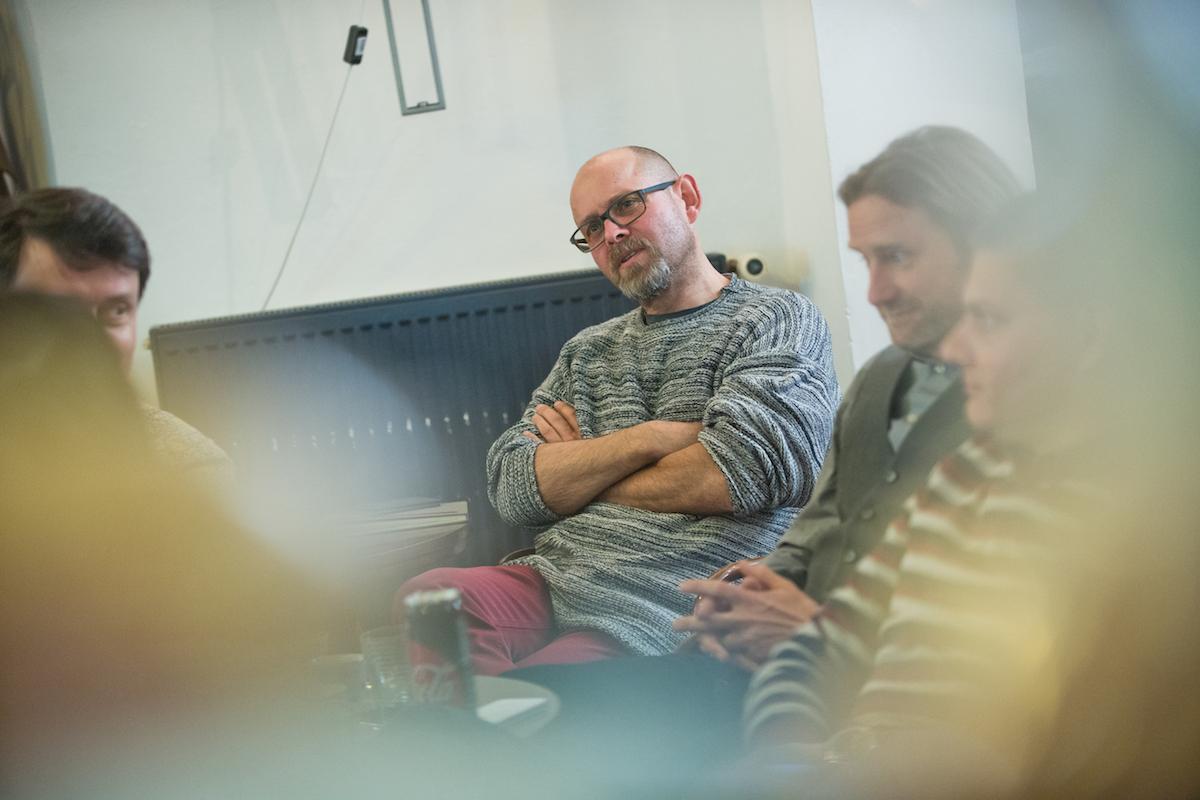Podívat se přišel také Marek Hlavica, výkonný ředitel AKA. Foto: David Bruner