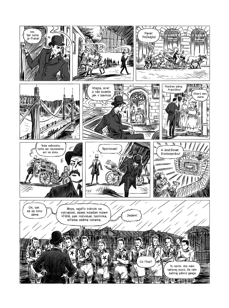 Komiks o Johnu Maddenovi. Foto: Yinachi