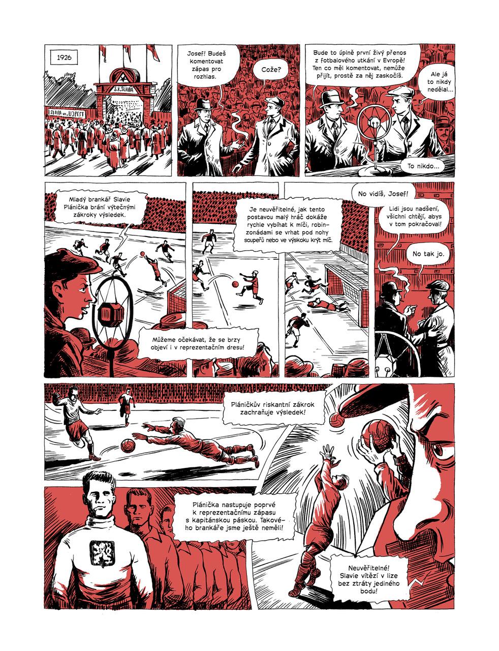 Komiks o Františku Pláničkovi. Foto: Yinachi