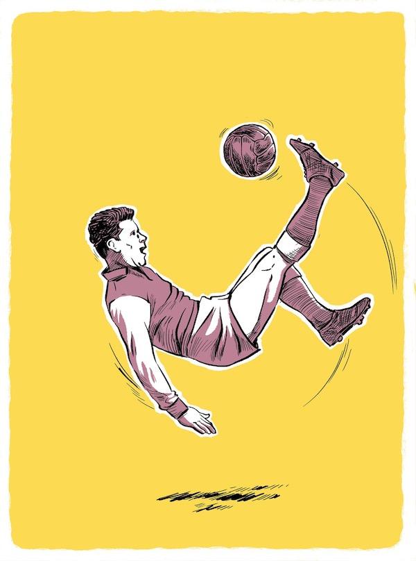 Úvodní ilustrace kapitoly Josefa Masopusta z knihy Hrdinové. Foto: Yinachi