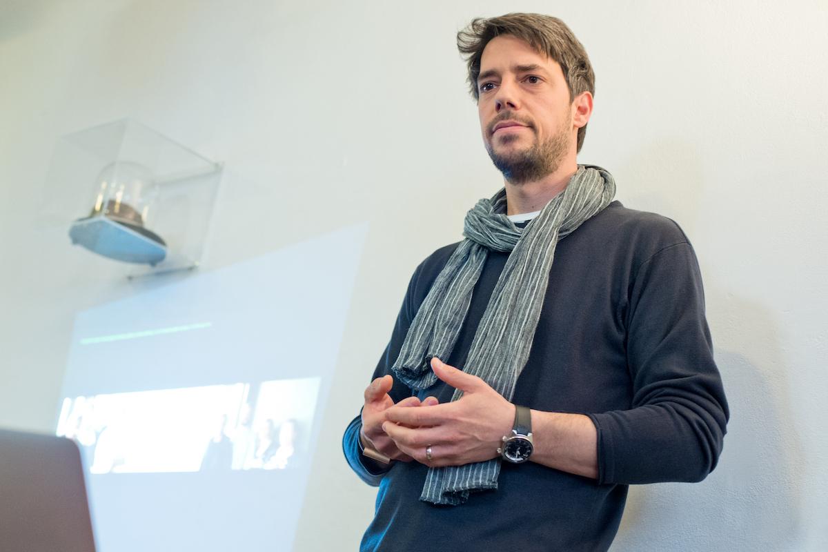 Robert Haas na setkání digitálních agentur v Ponrepu letos koncem dubna. Foto: David Bruner