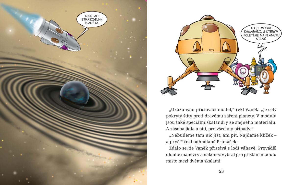 Ukázka z knihy Primáček: Klíč od světa pohádek