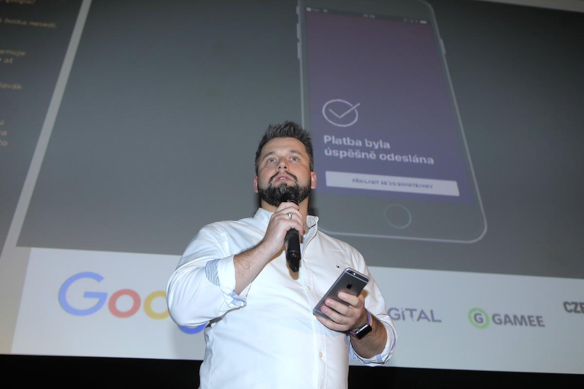Jakub Komenda předvedl novinky v mobilním bankovnictví Monety