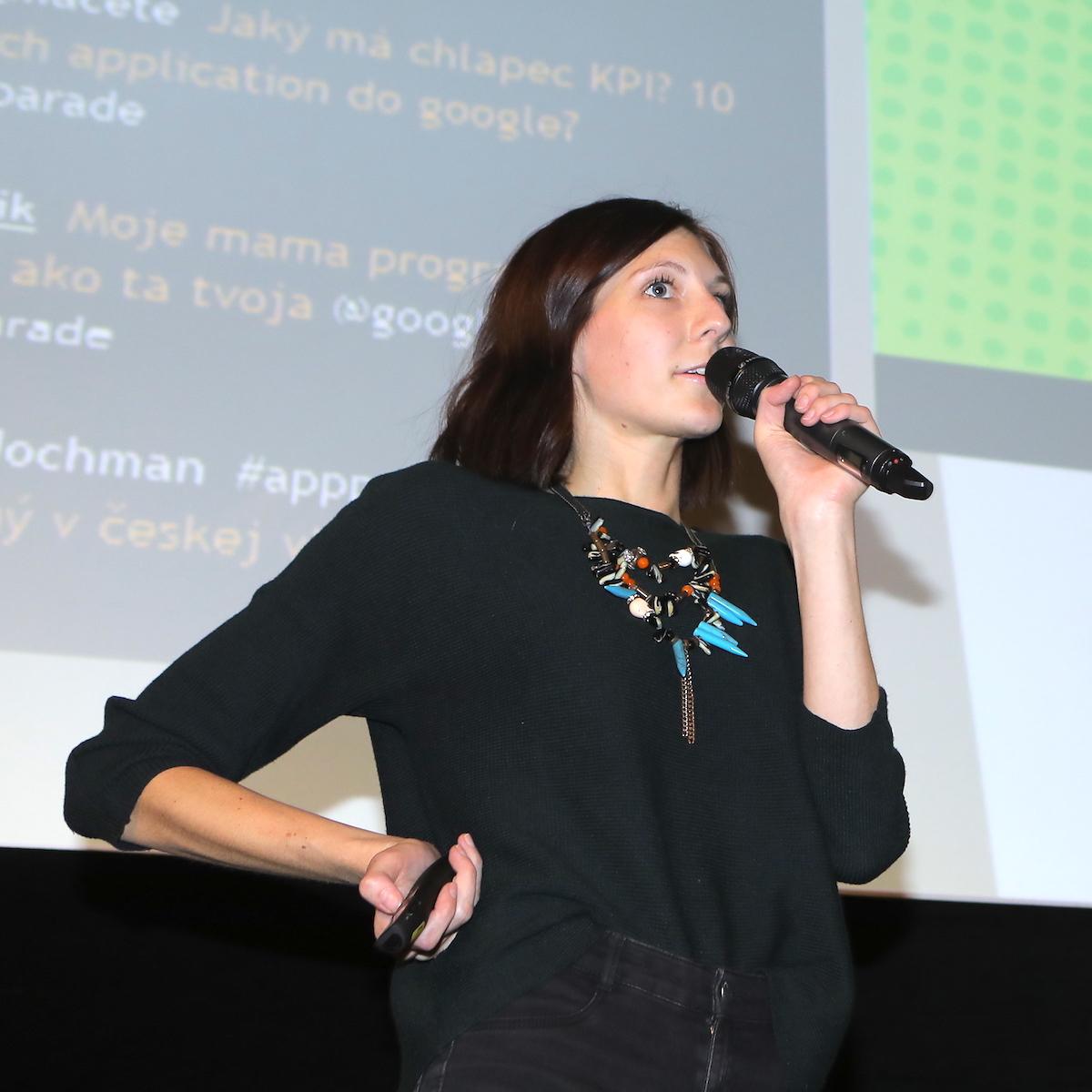 Michaela Dvořáková přiblížila nabídku startupu Gamee