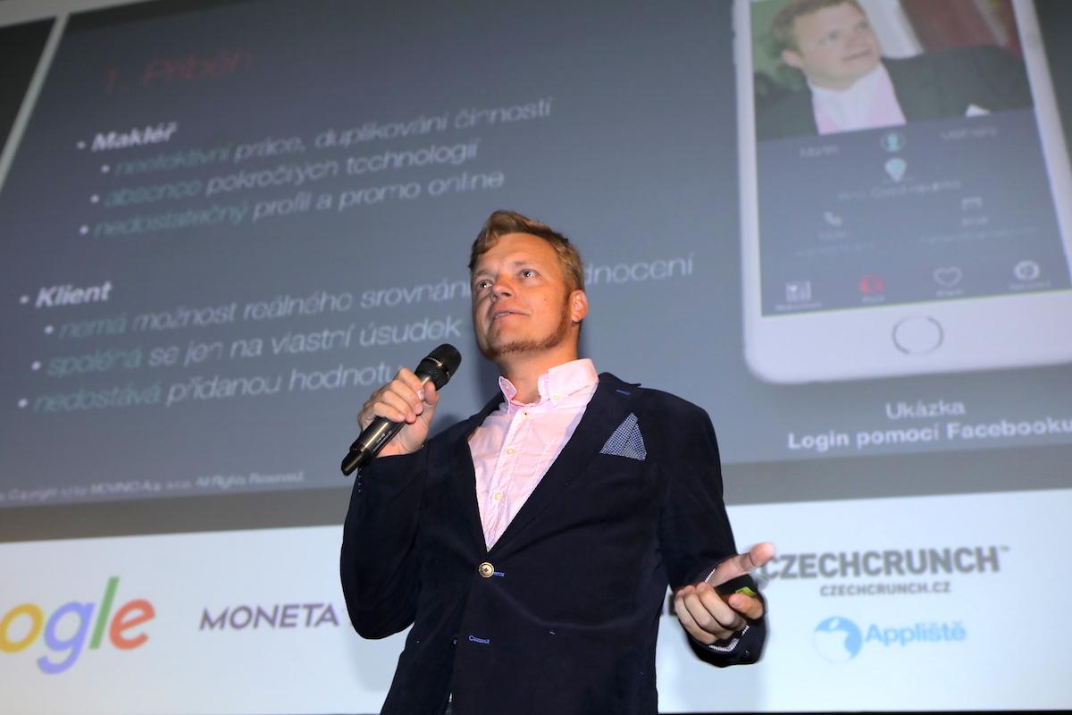 Martin Měřínský představil aplikaci Movinio