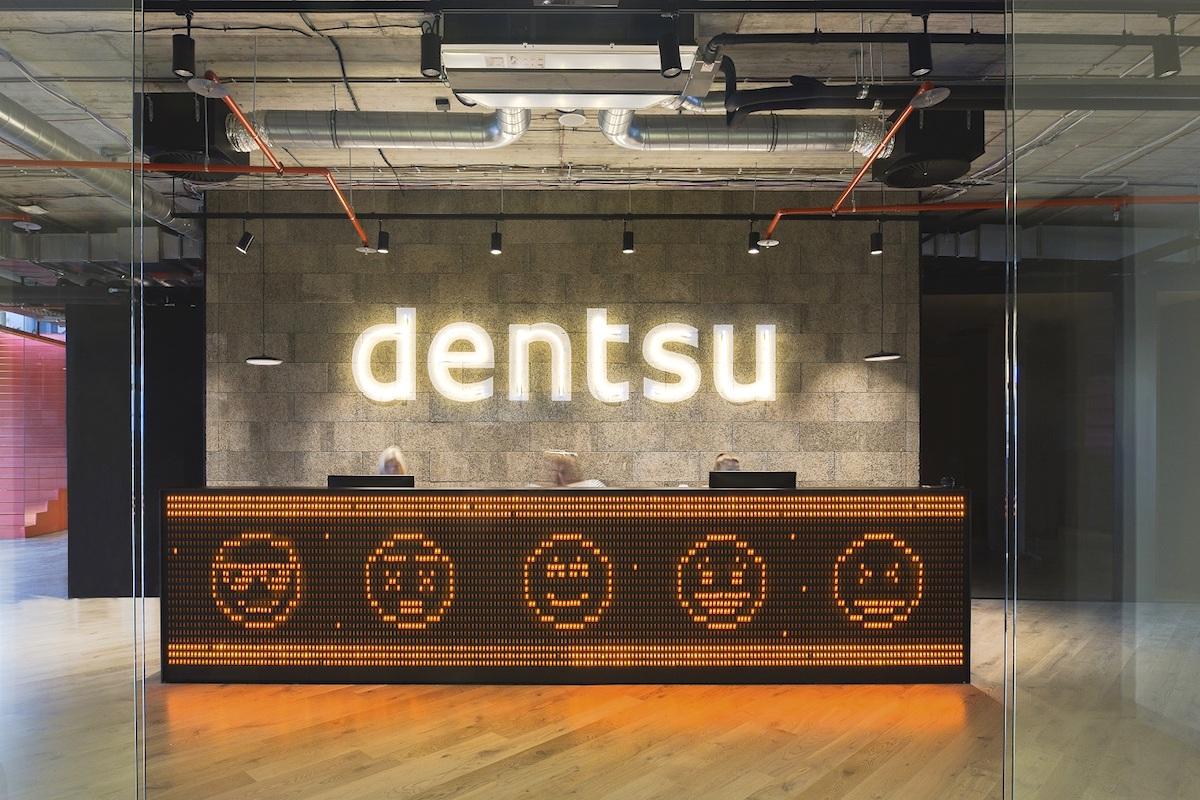 Nové kanceláře Dentsu Aegis v pražských Holešovicích