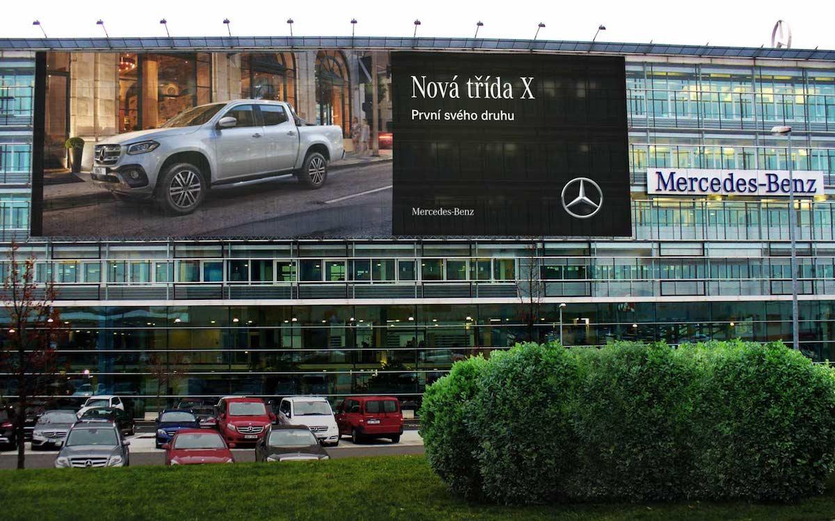 Mercedes-Benz třídy X