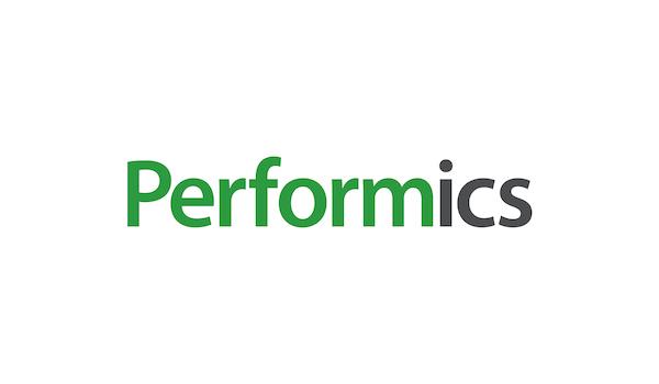 Aktuální logo agentury Performics