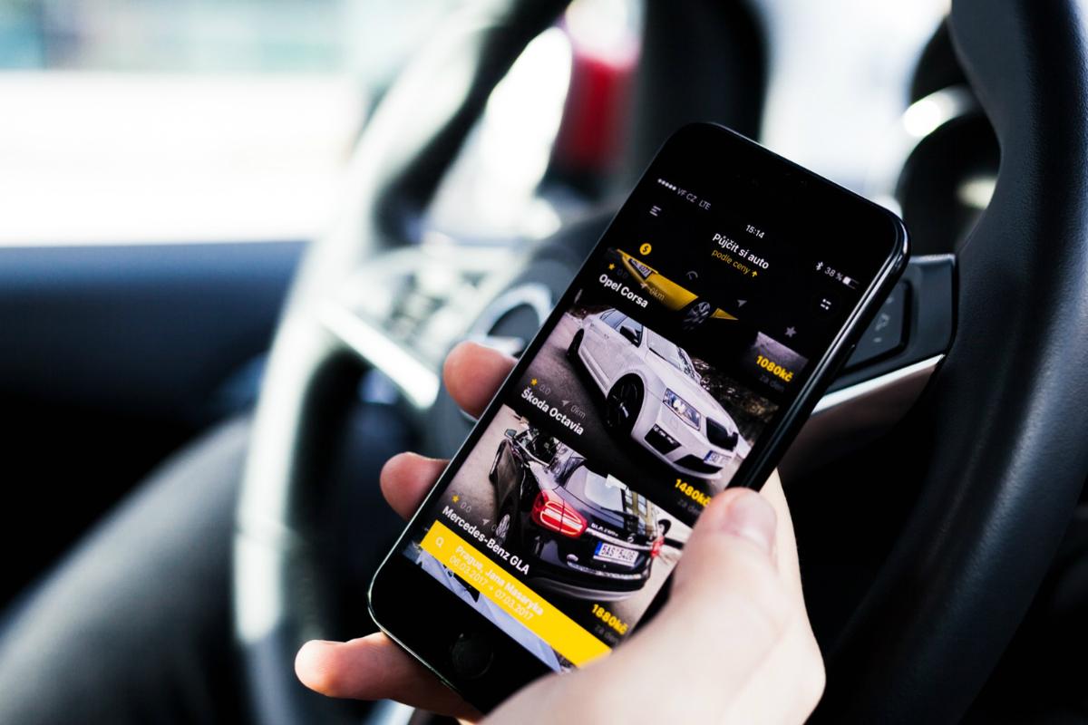 SmileCar umožňuje sdílení aut pomocí mobilní aplikace