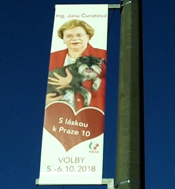 Jana Čunátová s láskou k Praze 10