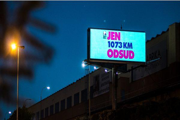 Rumunská pobočka Taco Bell je vidět i v Praze