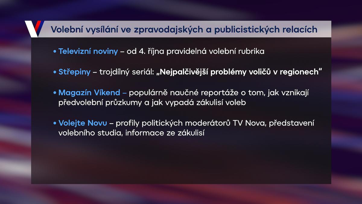 Volby ve zpravodajství a publicistice