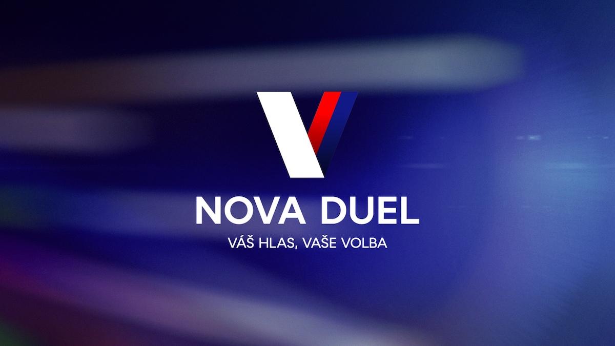 Claim volebního vysílání Novy. Foto: TV Nova