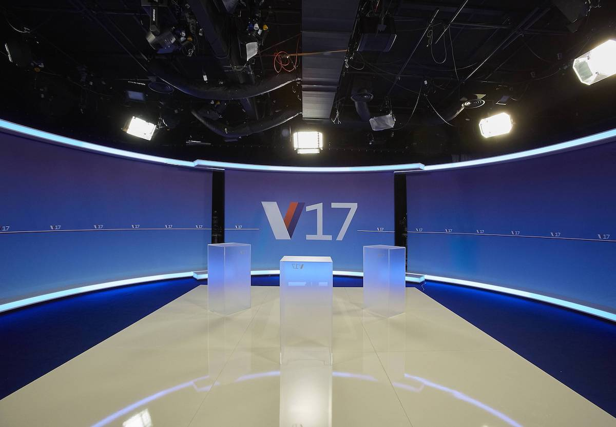 Studio pro volební Duel. Foto: TV Nova