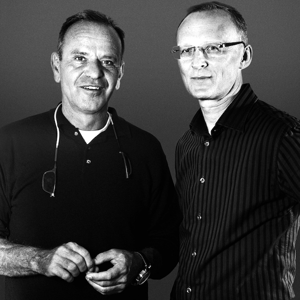 Miloslav Knepr (vlevo) a Roman Straka alias Silver Pack