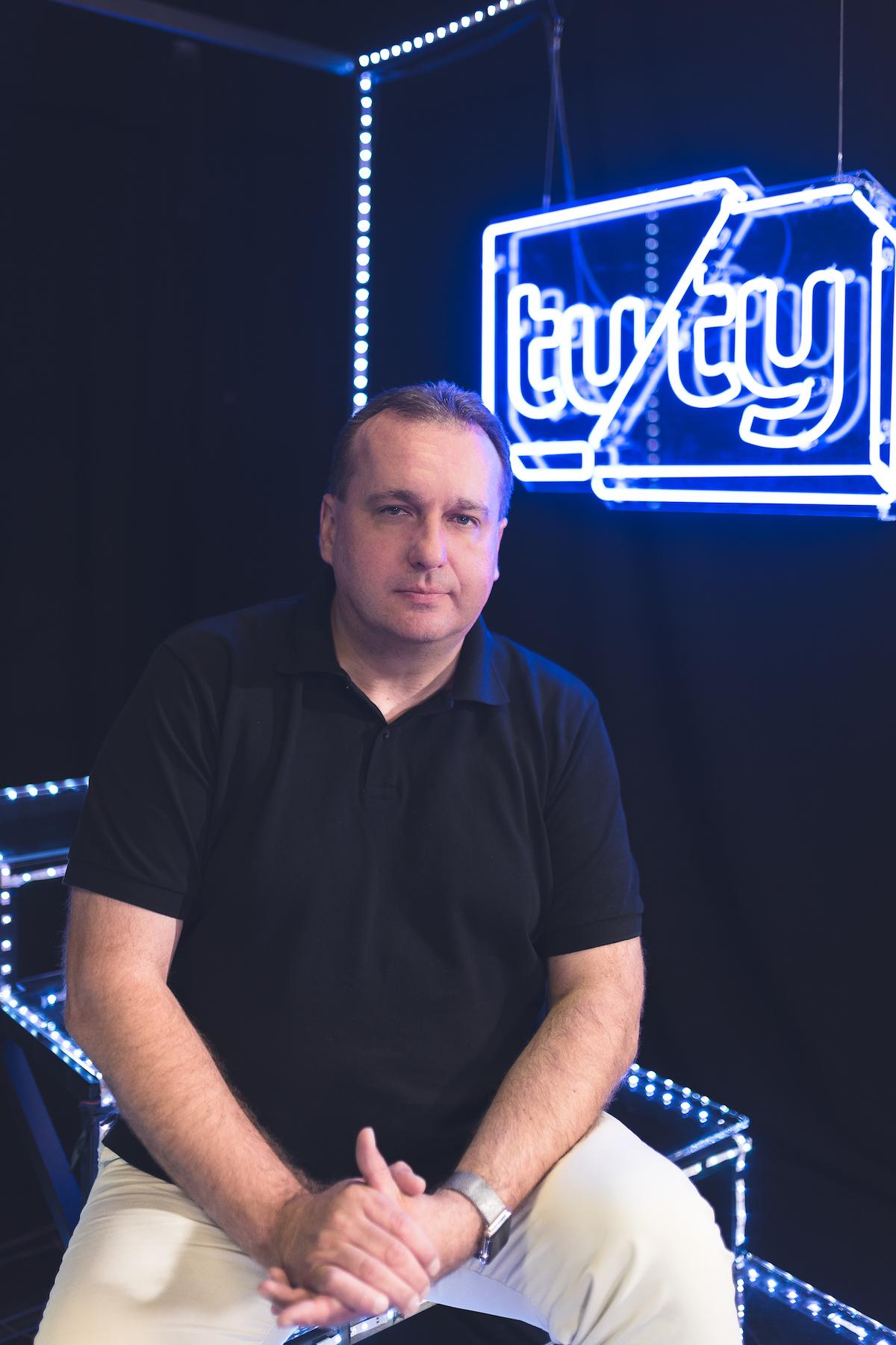 Pavel Bouček, výkonný a obchodní ředitel televize Tuty
