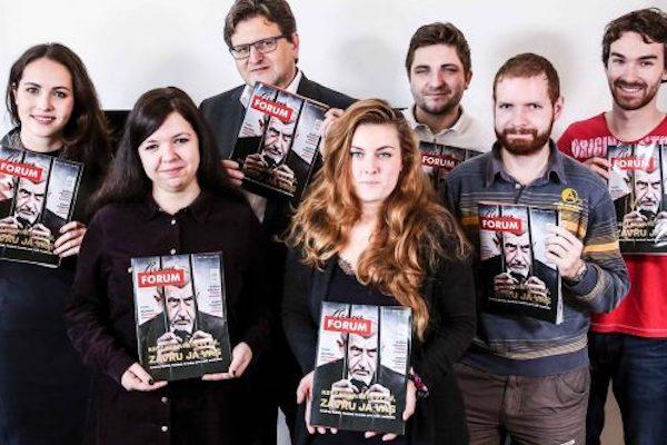 Šafr k volbám vydává první tištěné Revue Forum