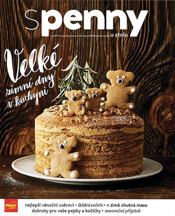 Titulní strana prvního vydání čtvrtletníku S Penny u stolu