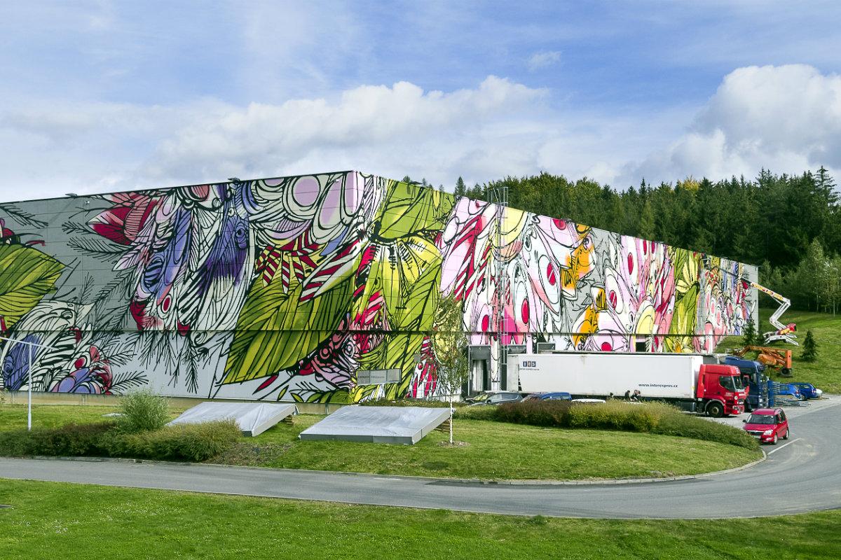 Stěna z projektu ArtWall od CTP