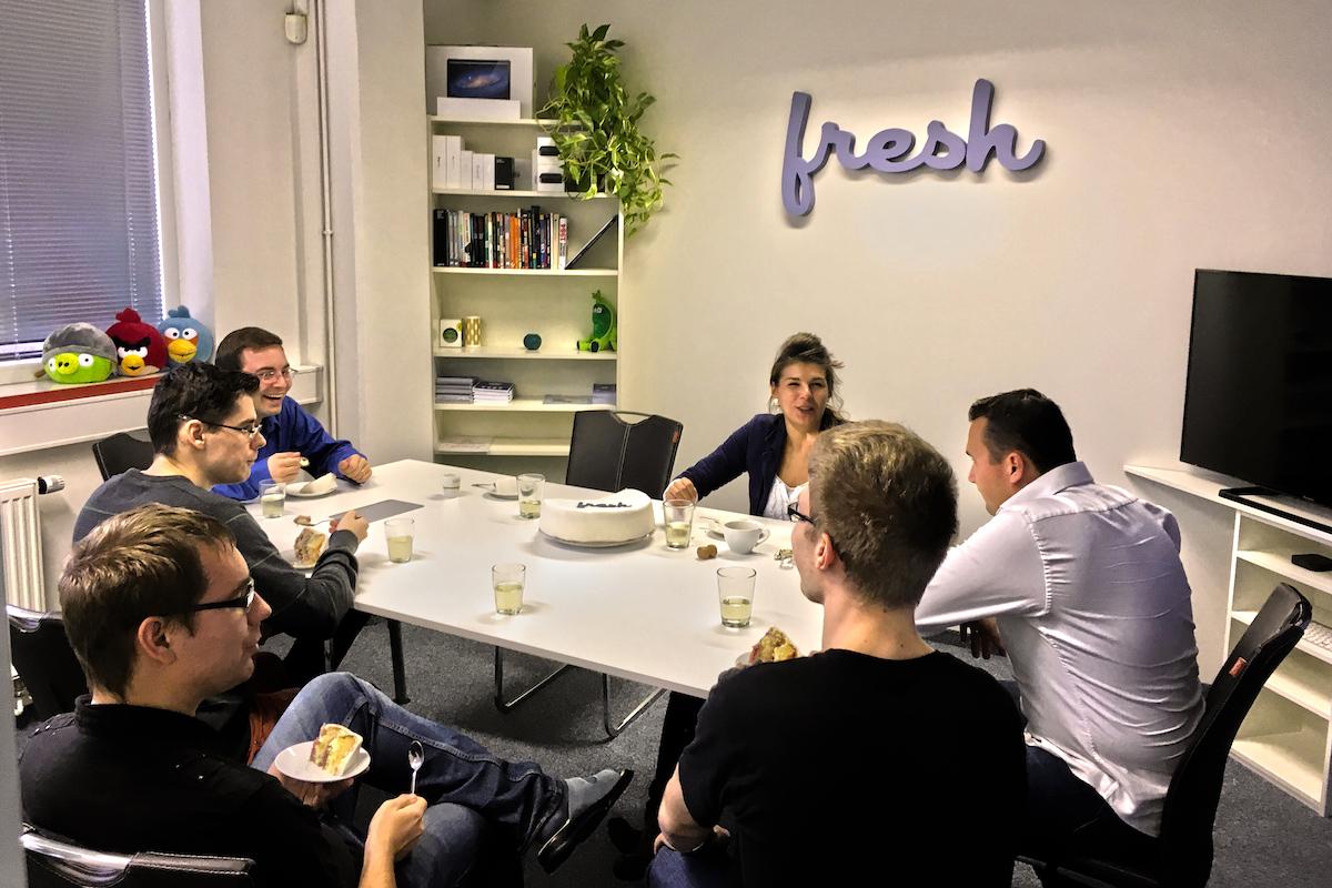 Porada týmu Fresh