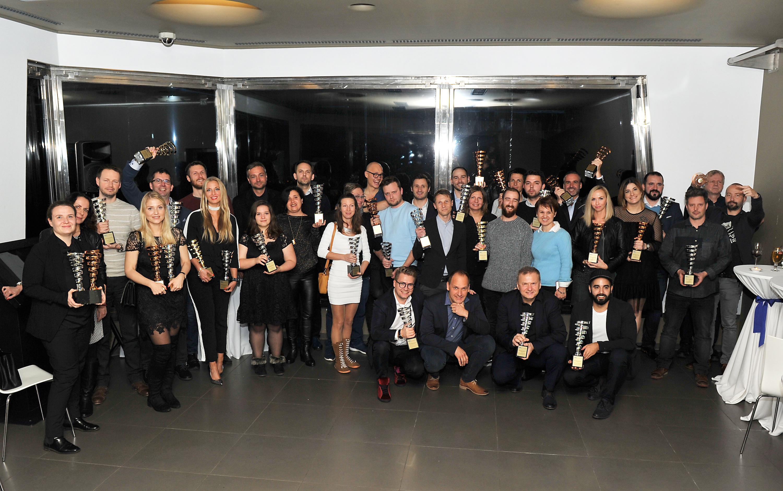 Letošní vítězové IMC European Awards. Kliknutím zvětšíte