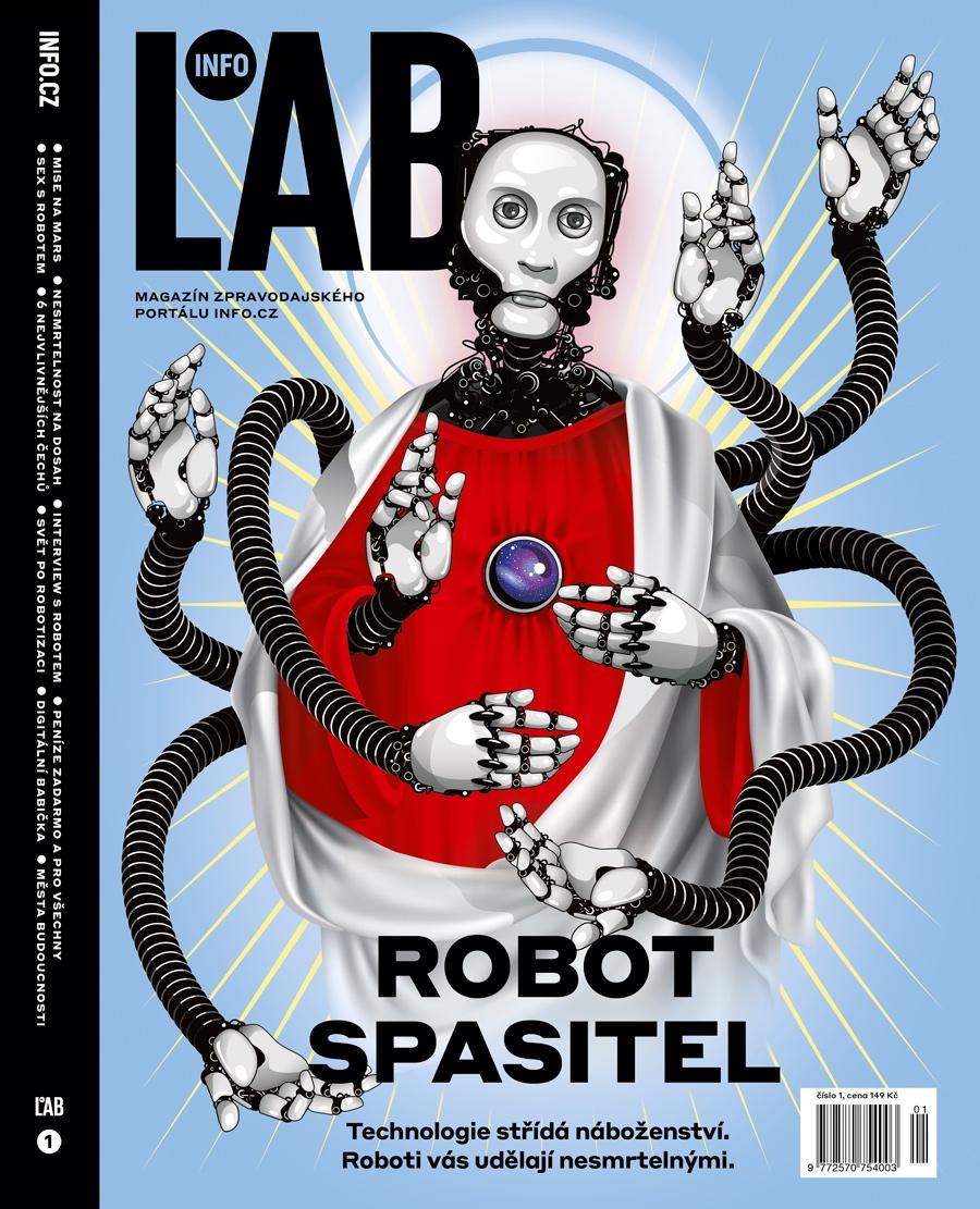 Titulní strana prvního čísla speciálu InfoLab
