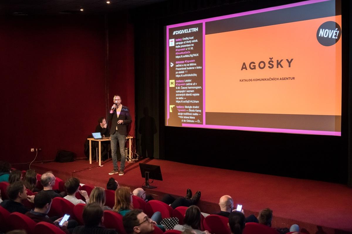 Úvodem jsme představili Agošky.cz, nový katalog komunikačních agentur