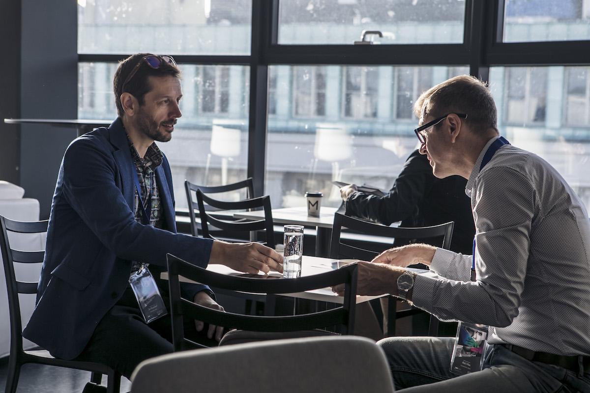 Managing director Comtechu Jan Rauschert (vlevo)