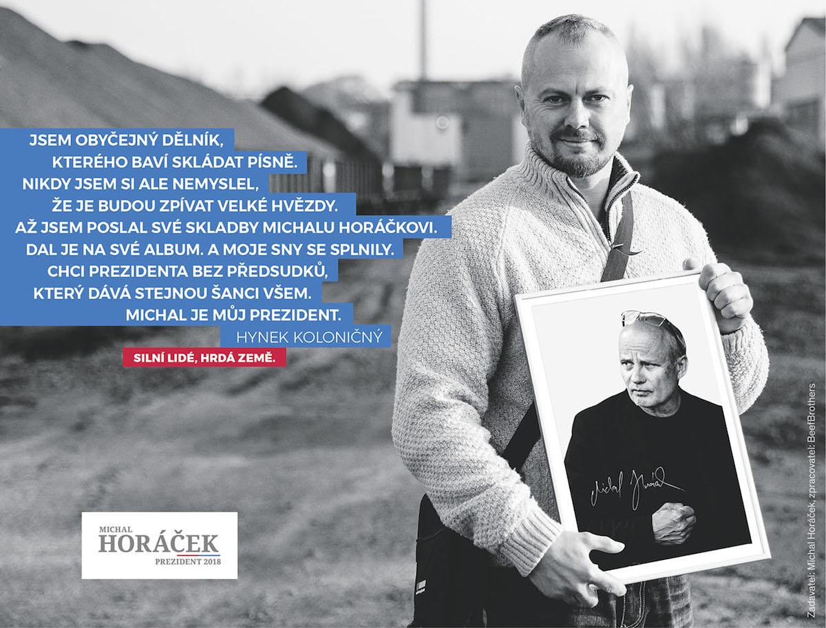 Vizuály pro Michala Horáčka produkují BeefBrothers
