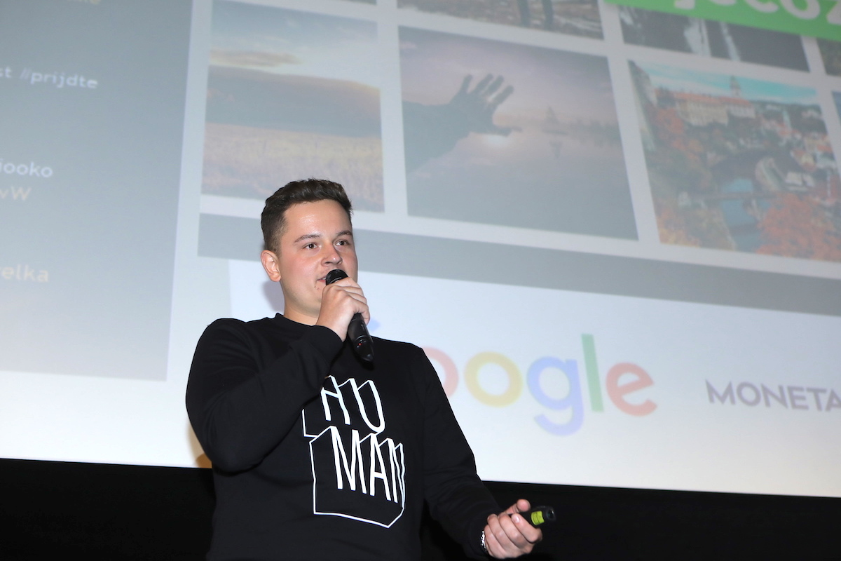 Vítězné Windy Maps prezentoval Petr Kozlík