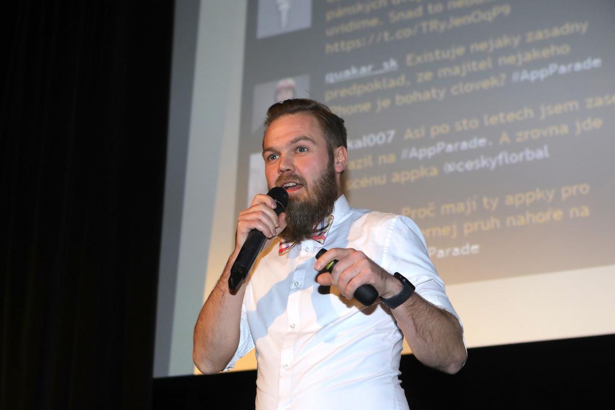 Jan Jelínek prezentoval Řekni to GIFem na prosincové AppParade