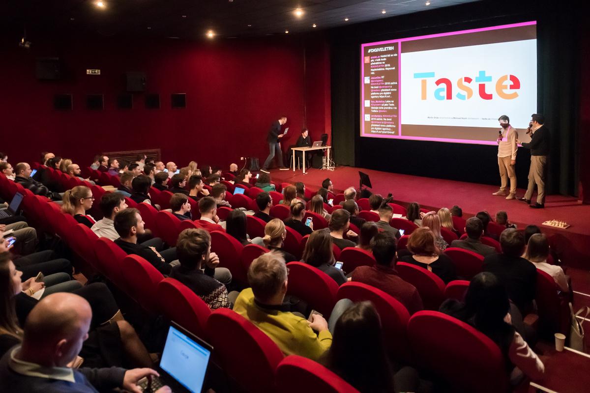 Digiveletrh 2018 v kině Atlas. Foto: Vojta Herout