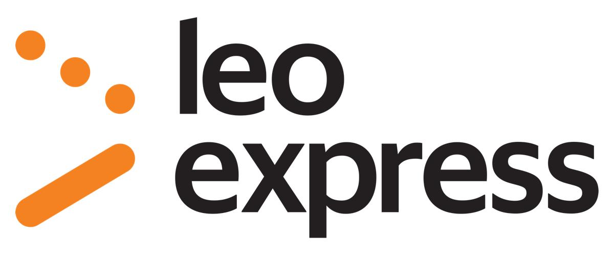 Nové logo Leo Expressu