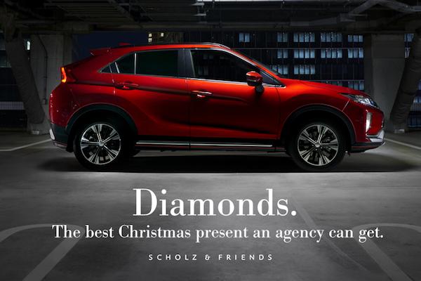 Scholz & Friends dostali k letošním Vánocům diamanty