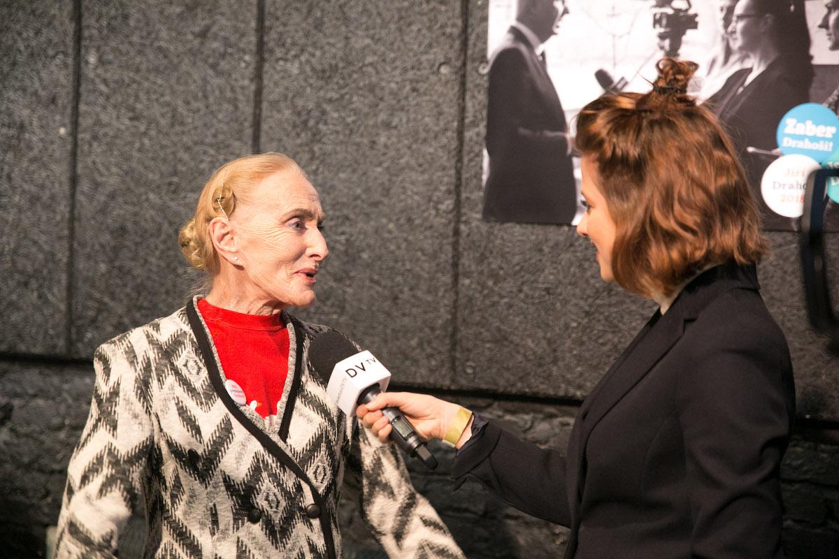 Soňa Červená a Emma Smetana z DV TV