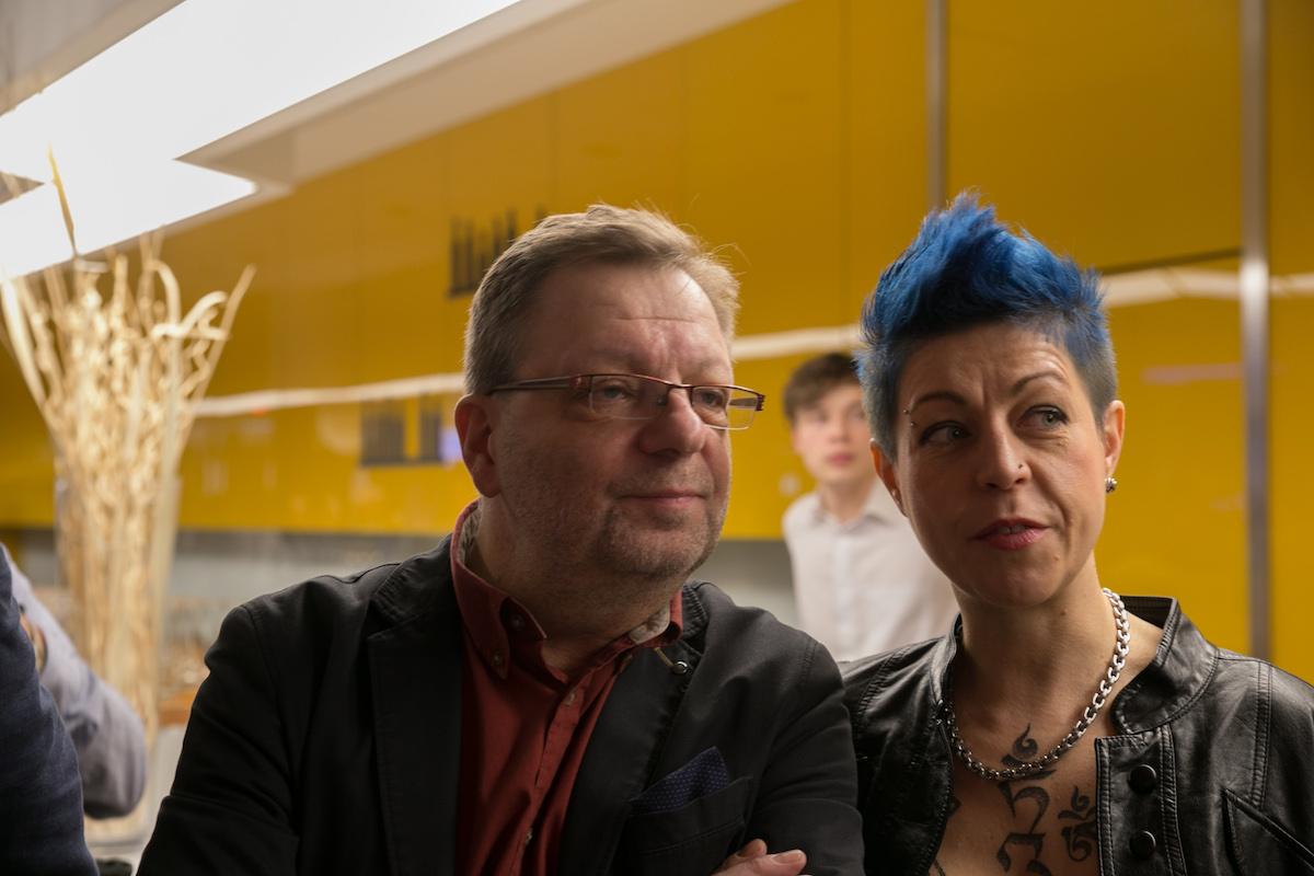 Milan Šteindler s doprovodem