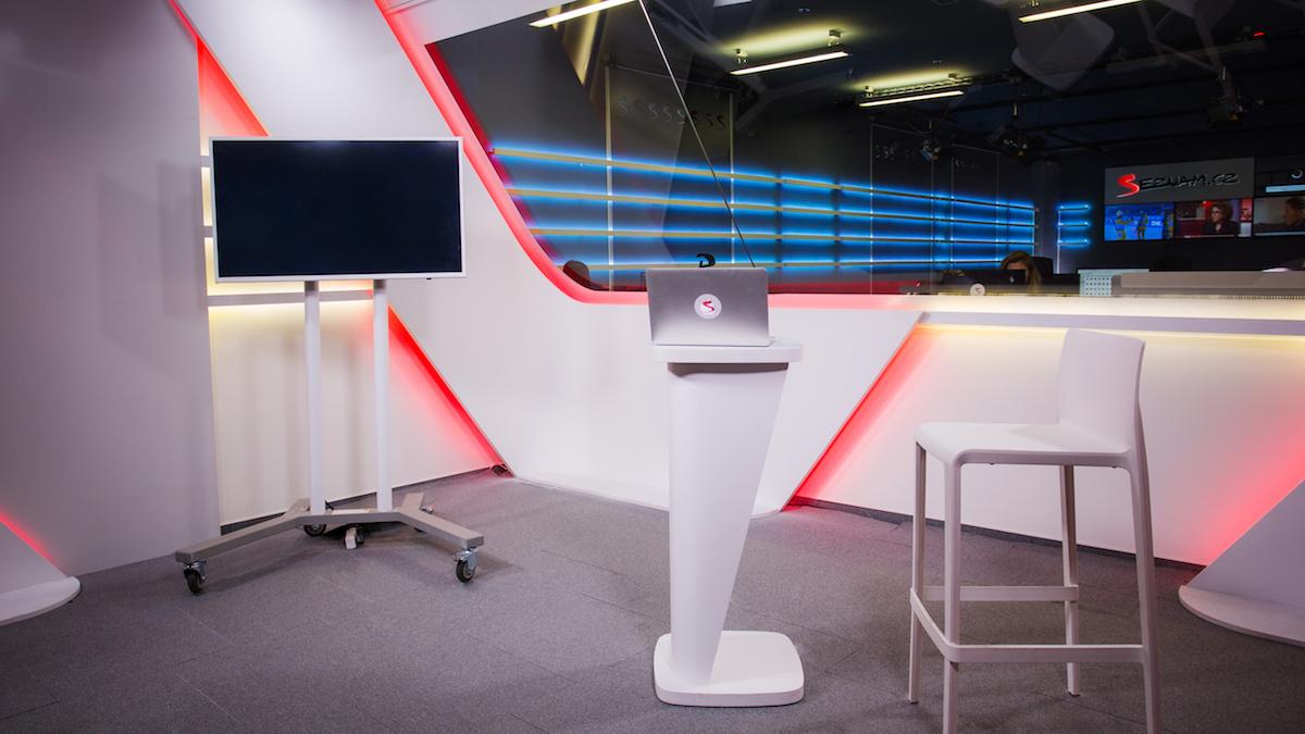 Zprávařské studio