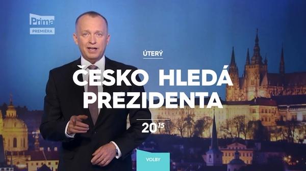 Česko hledá prezidenta. Foto: TV Prima