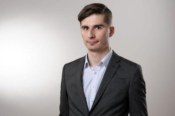 Viktor Daněk, současný zpravodaj v Polsku. Foto: Khalil Baalbaki