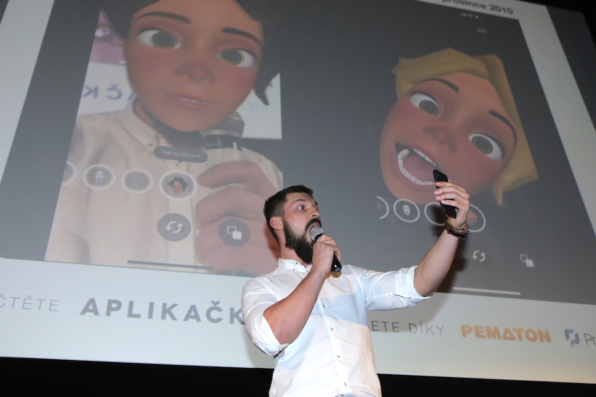 Jurij Vančický ukázal za RedTag apku Facy